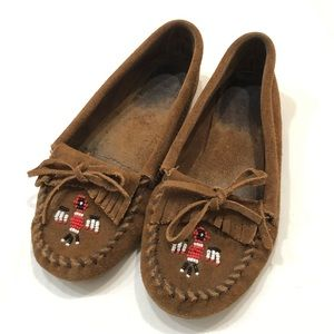 Minnetonka beaded moccasins